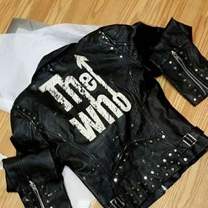 😁🤑SOLD for $350🤑😁 BAD*SS THE WHO LEATHER MOTO